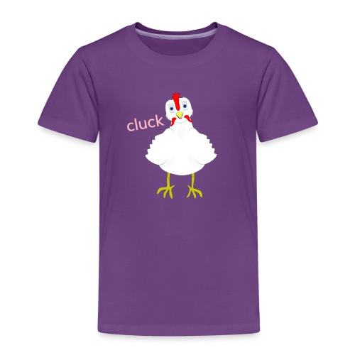 CLUCK 3 png - Kids' Premium T-Shirt
