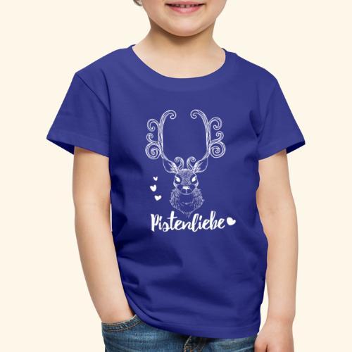 pistenliebe weiß - Kinder Premium T-Shirt