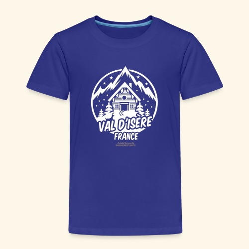 Val d' Isère Station de Ski France - Kinder Premium T-Shirt