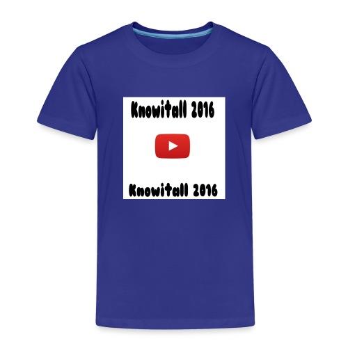 Knowitall 2016 Custom design - Kids' Premium T-Shirt