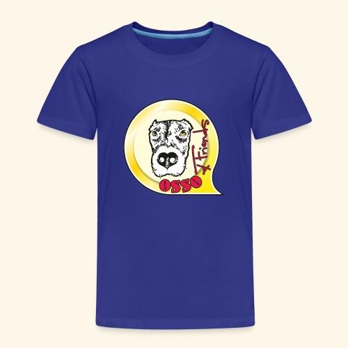 Osso4Friends official logo - Maglietta Premium per bambini