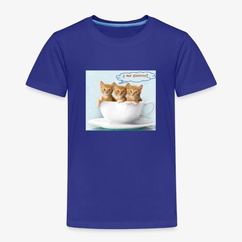 gatito - Camiseta premium niño
