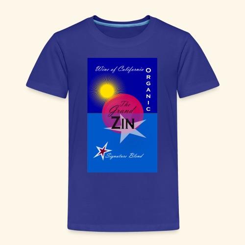 wine at playa summernight - Premium-T-shirt barn