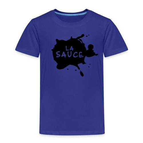 lasaucelogo blk - T-shirt Premium Enfant
