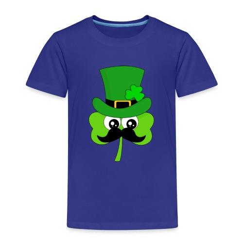 Clover Hipster - Kinder Premium T-Shirt