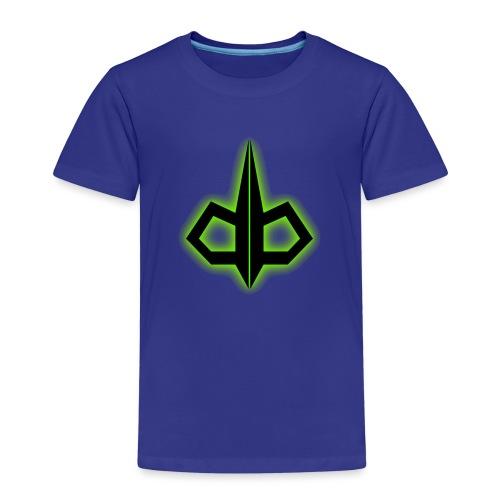 dark byte logo tshirt 2 - Kinderen Premium T-shirt