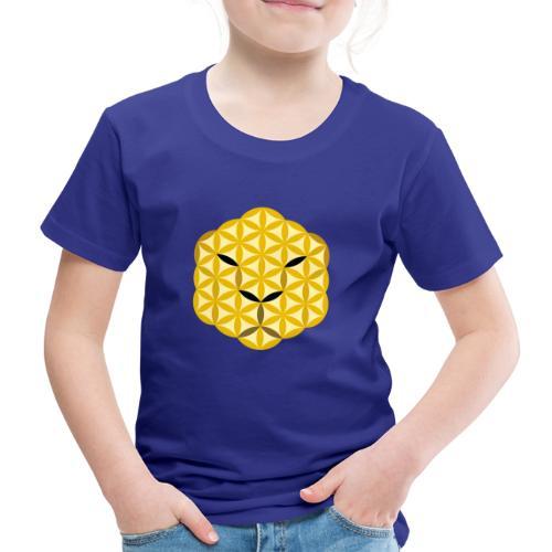 The Jaguar Face of life - Sacred Animals, Face 01 - Kids' Premium T-Shirt