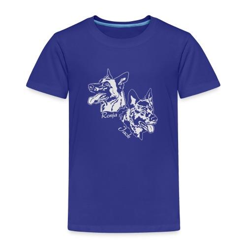 ronja und jack 13 weiss - Kinder Premium T-Shirt