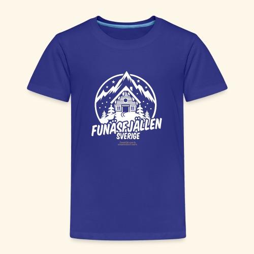 Funäsfjällen Sverige Ski resort T Shirt Design - Kinder Premium T-Shirt