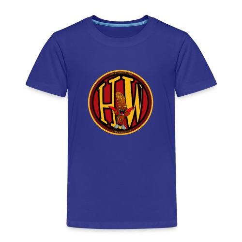 superhw stikker incl worst png - Kids' Premium T-Shirt