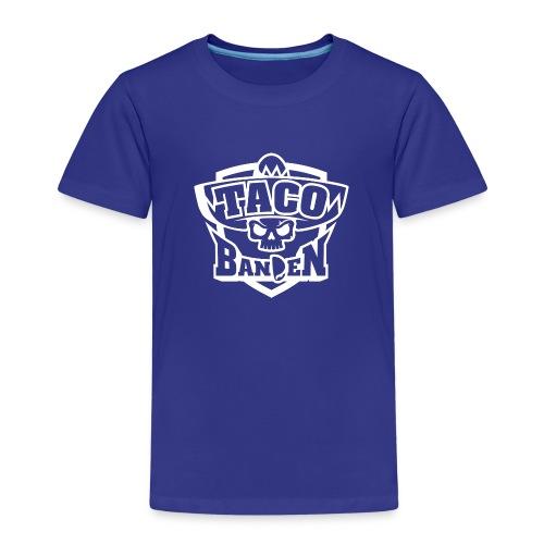 TB-Hoodie White - Premium T-skjorte for barn