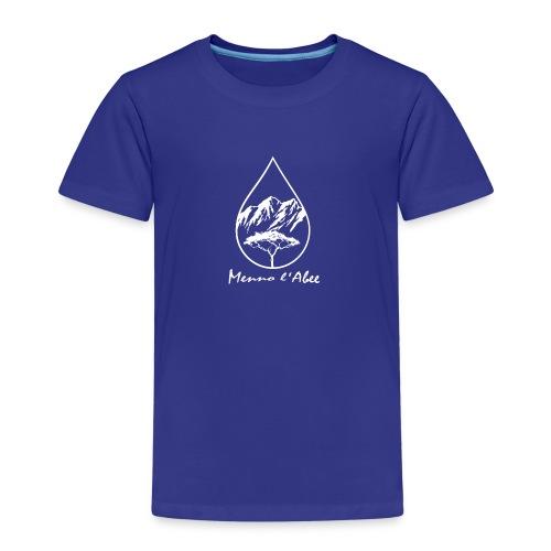 menno labee logo wit - Kinderen Premium T-shirt