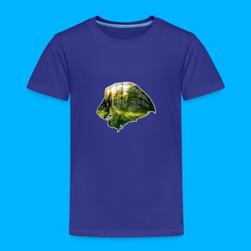AMAZING WOOD LION - Kinder Premium T-Shirt