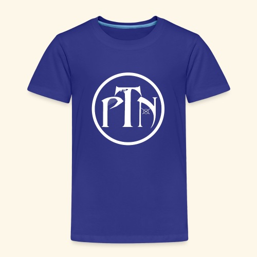 PTN-Music Logo Weiss - Kinder Premium T-Shirt