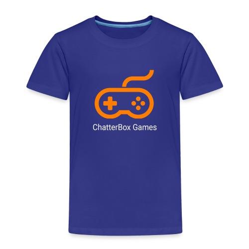 Logo with White Text - Kids' Premium T-Shirt