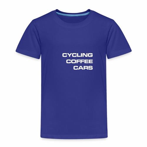 Cycling Cars & Coffee - Kids' Premium T-Shirt
