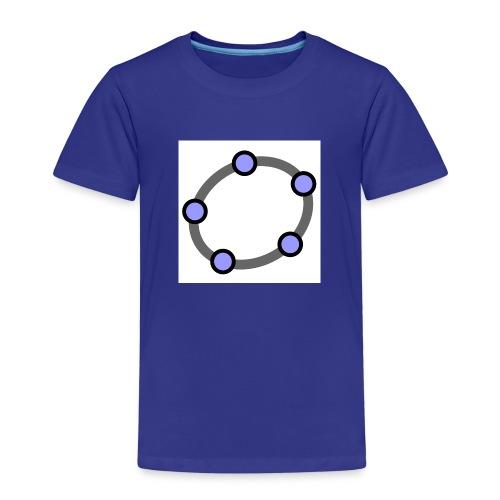 GeoGebra Ellipse - Kids' Premium T-Shirt
