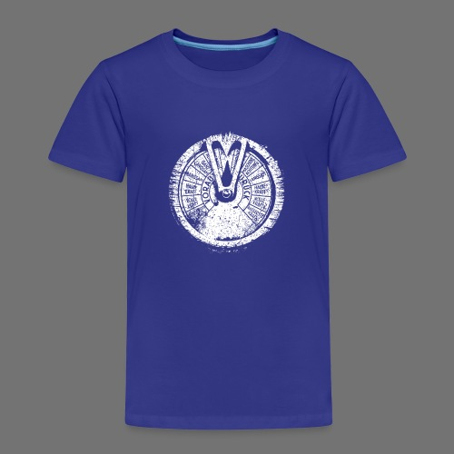 Maschinentelegraph (white oldstyle) - Kids' Premium T-Shirt