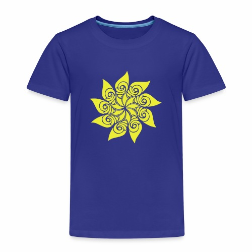 Rosace fleur - T-shirt Premium Enfant