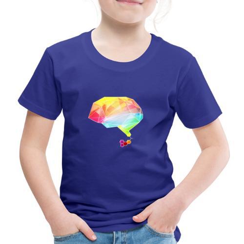 lsd brain - Kinder Premium T-Shirt