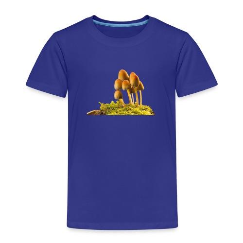 Die wunderschoenen gelben Wiesenpilze - Kinder Premium T-Shirt