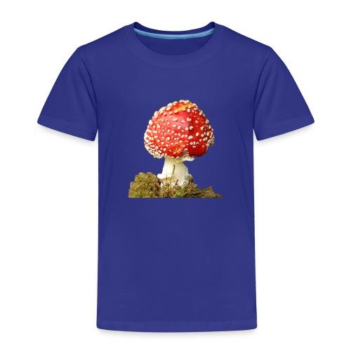 Der rote giftige Fligenpilz - Kinder Premium T-Shirt