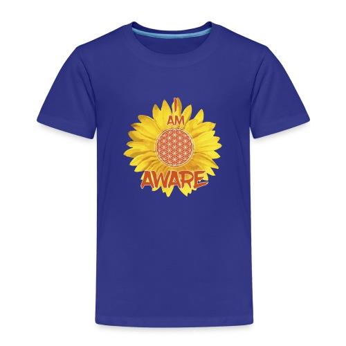 I AM AWARE - Kids' Premium T-Shirt