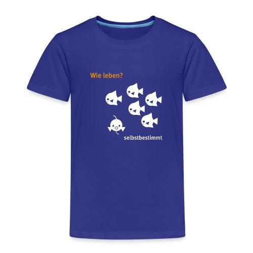 cucu - Fische - Kinder Premium T-Shirt