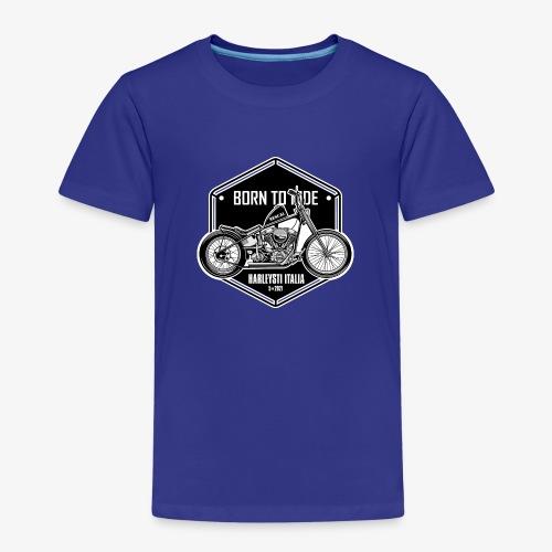 Born to Ride - Vintage motorbike - Maglietta Premium per bambini