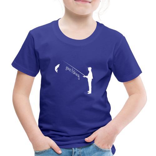 Angler gone fishing - Kinder Premium T-Shirt