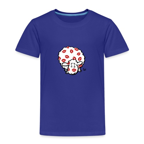 Kiss Ewe - Kinderen Premium T-shirt