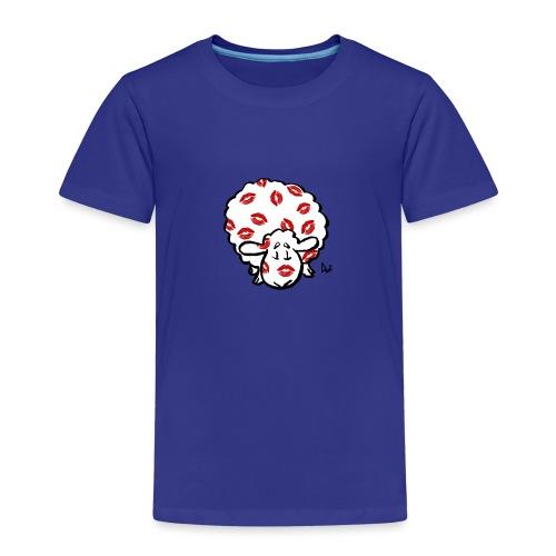 Kiss Ewe - Premium T-skjorte for barn
