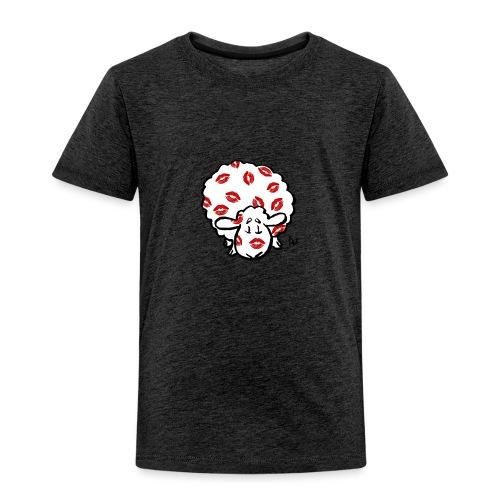 Kuss Mutterschaf - Kinder Premium T-Shirt