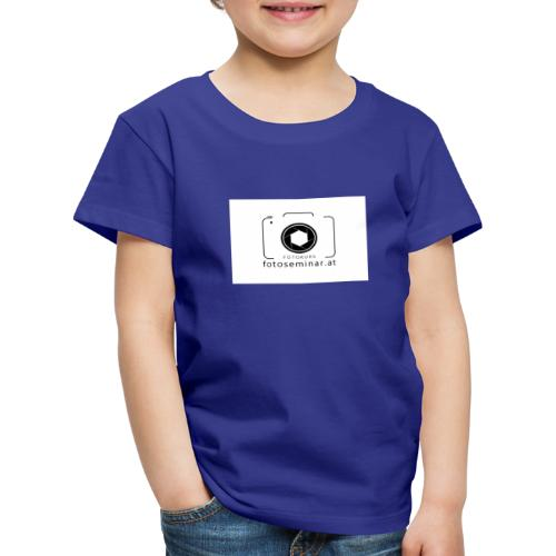 fotoseminar at - Kinder Premium T-Shirt