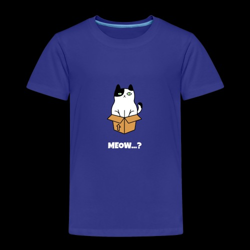 Hello Meow - Kinder Premium T-Shirt