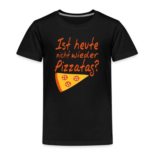 Pizzatag Pizza Pizzeria Pizza-Fan Geschenk Spruch - Kinder Premium T-Shirt