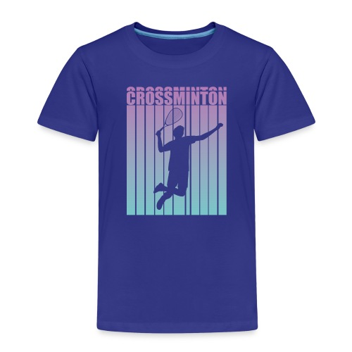 Crossminton - Speed badminton - Kids' Premium T-Shirt
