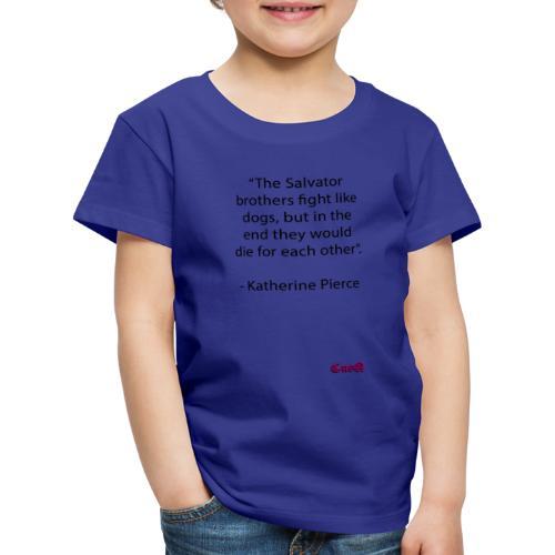 The Salvator brothers - Premium-T-shirt barn