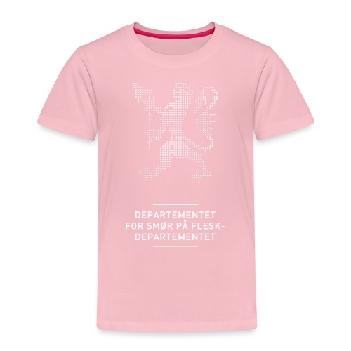 Departementsdepartementet (fra Det norske plagg) - Premium T-skjorte for barn