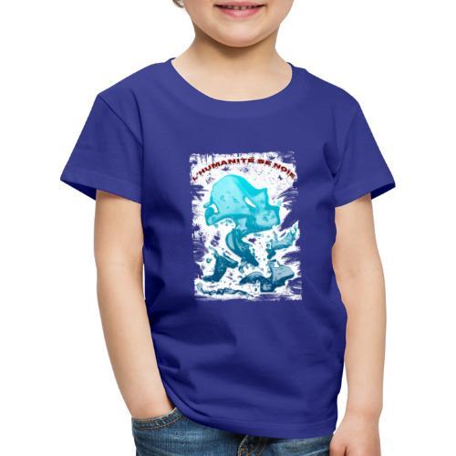 L'humanité se noie style grunge - Tshirtchicetchoc - T-shirt Premium Enfant