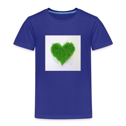 Herzrasen Button - Kinder Premium T-Shirt