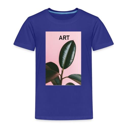 Art Pflanze lila Kunst - Kinder Premium T-Shirt
