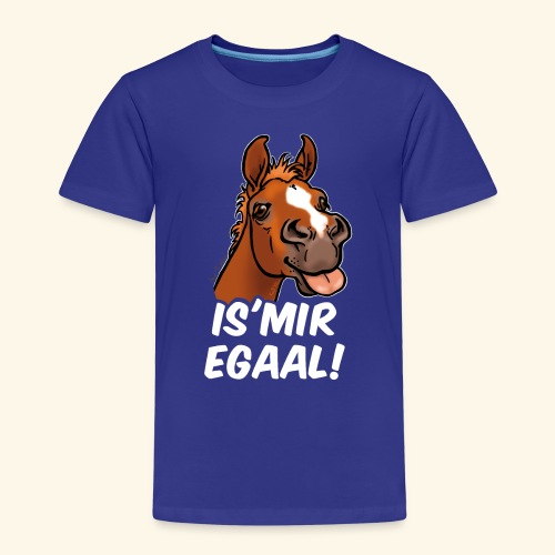 Fohlen Is Mir Egaal! (weisser Text) - T-shirt Premium Enfant