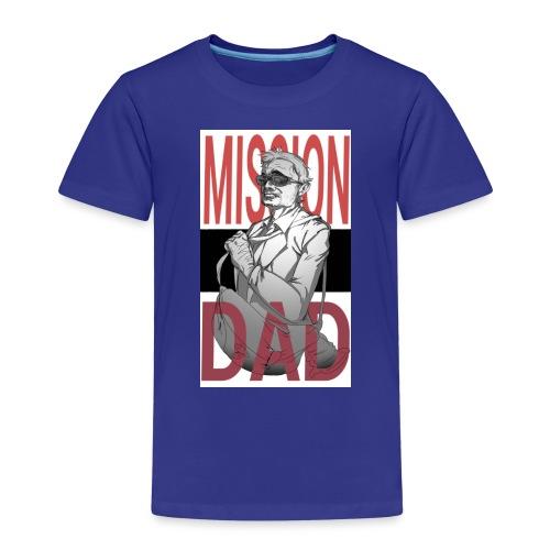 MissionDad - Maglietta Premium per bambini