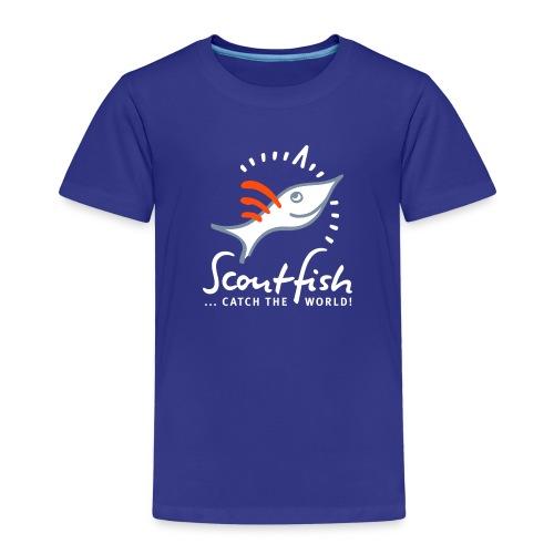kompassscoutfishslogan - Kinder Premium T-Shirt