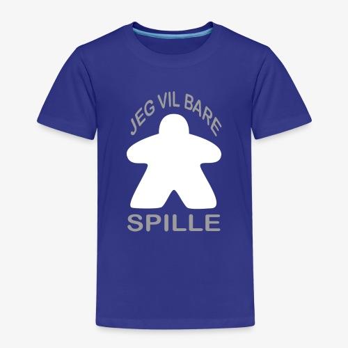 SPILLE - Premium T-skjorte for barn