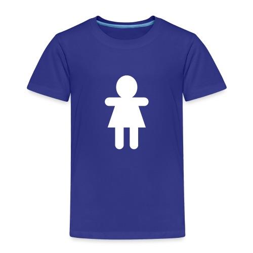 Picto Femme Blanc - T-shirt Premium Enfant