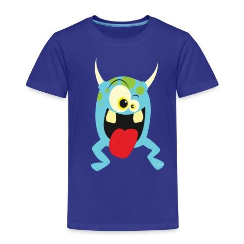 Monster blue - Kinderen Premium T-shirt