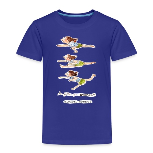 Les filles qui courent de Micucci Micucci - T-shirt Premium Enfant