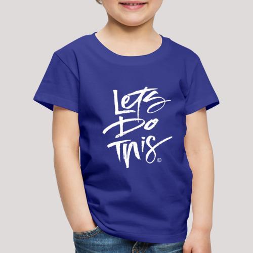 LDT Clear MASTER WHITE - Kids' Premium T-Shirt